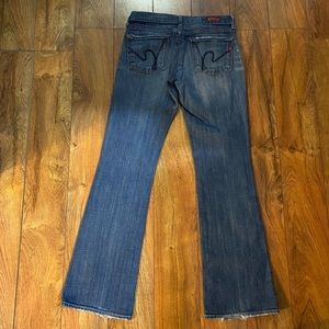 Citizens of Humanity Kelly #001 stretch low waist bootcut jeans
